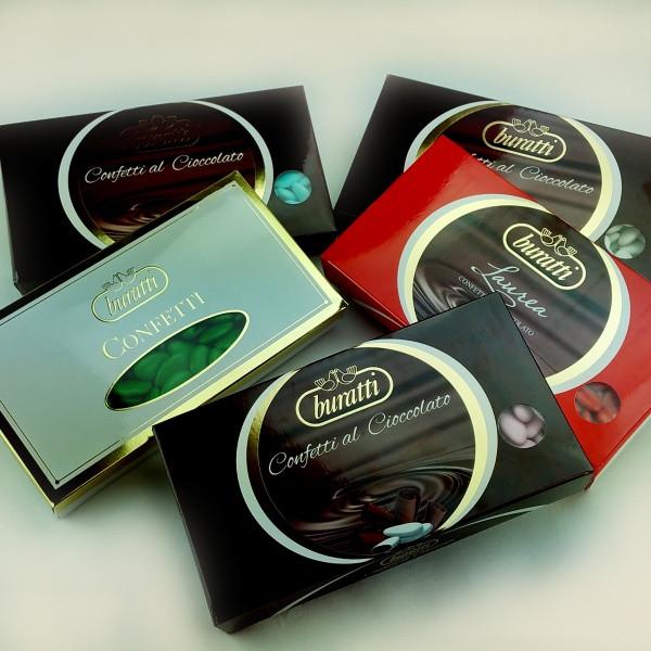 Confetti al Cioccolato BURATTI confezioni da 1 KG